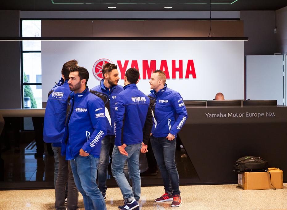 Yamaha press conference
